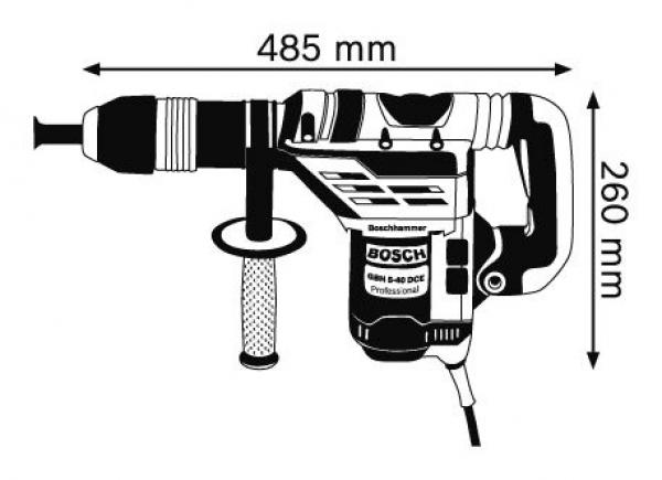 BOSCH Bohrhammer mit SDS-max GBH 5-40 DCE 0611264000