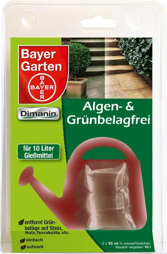 Bayer Garten Bayer Algen- & Grünbelagfrei Dimanin 2 x 20 ml 79918097