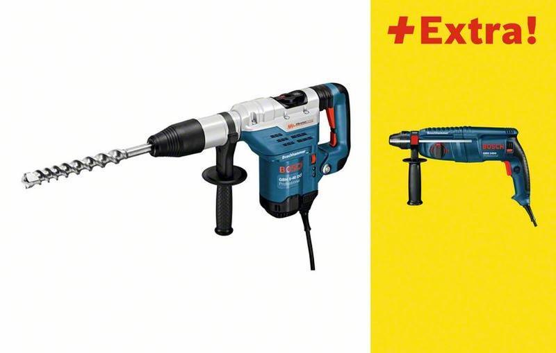Bosch Bohrhammer mit SDS-max GBH 5-40 DCE, mit Bohrhammer GBH 2400 0615990FU9