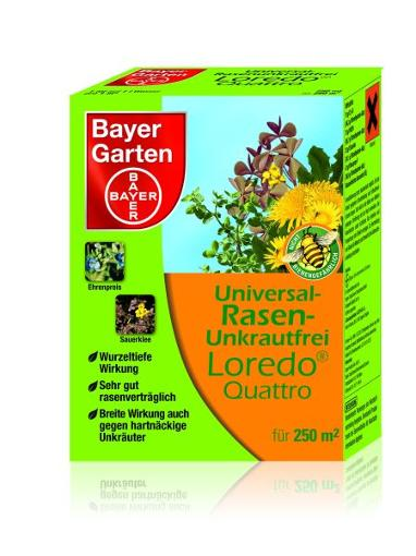 bayer universal rasenunkrautfrei loredo quattro 250 ml 4000680705772 7986355 ebay. Black Bedroom Furniture Sets. Home Design Ideas