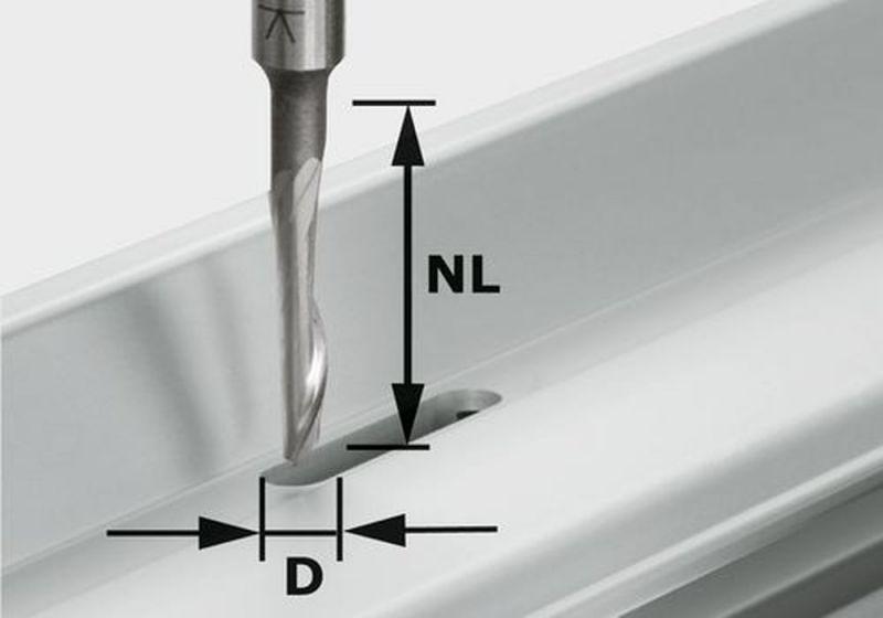 festool aluminium fräser